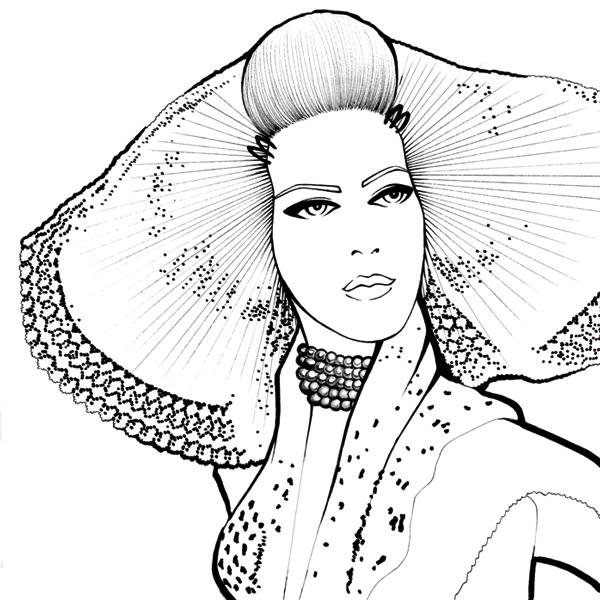 Zeeuw Meisje illustration