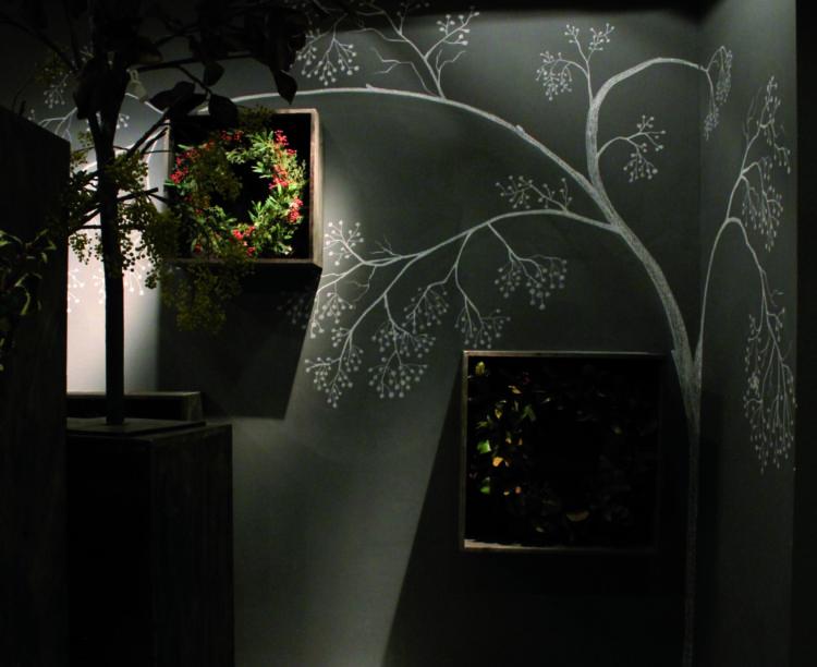 Mural Art Haus Of Joey Gold Eagle Showroom Xiamen