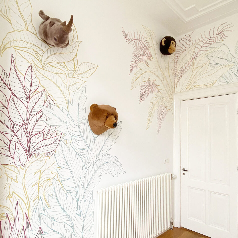 Mural Botanical Art by Joey Holthaus