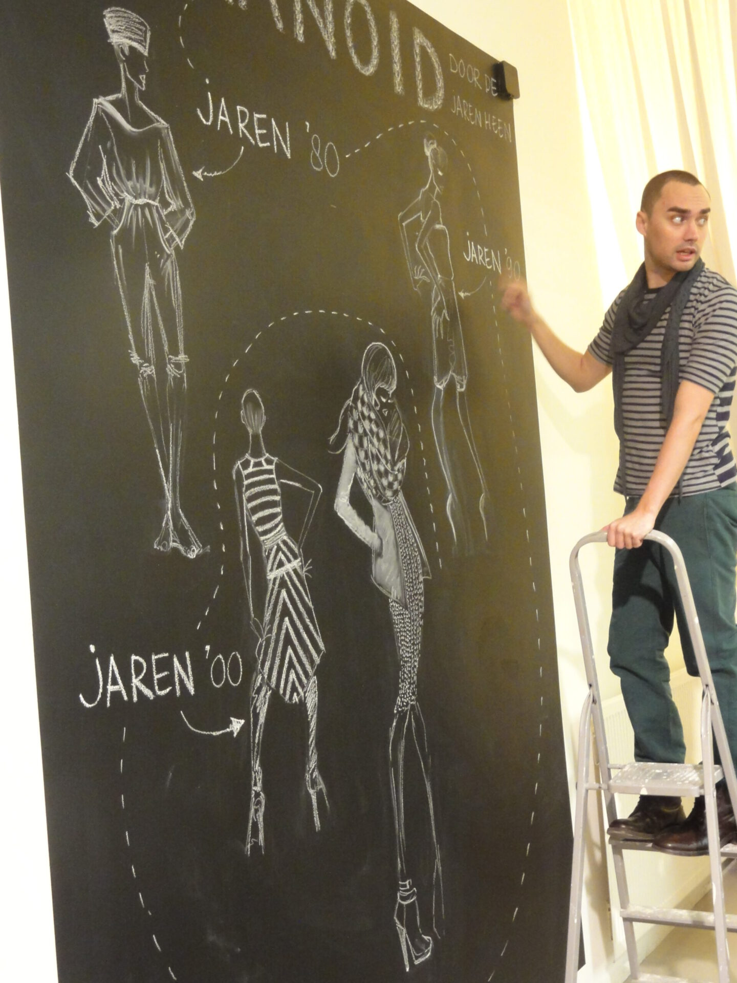 Mural Art Mural Art Humanoid Store Arnhem Joey Holthaus