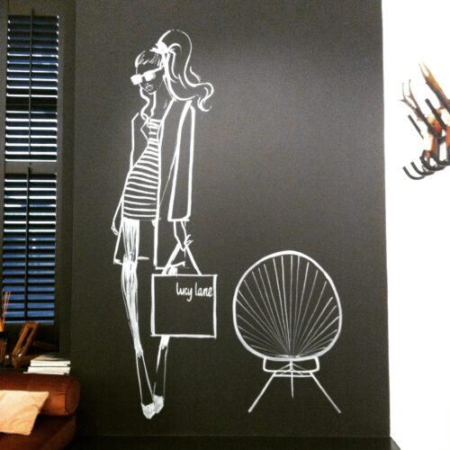 Mural Art Haus Of Joey for Lucy Lane Boutique