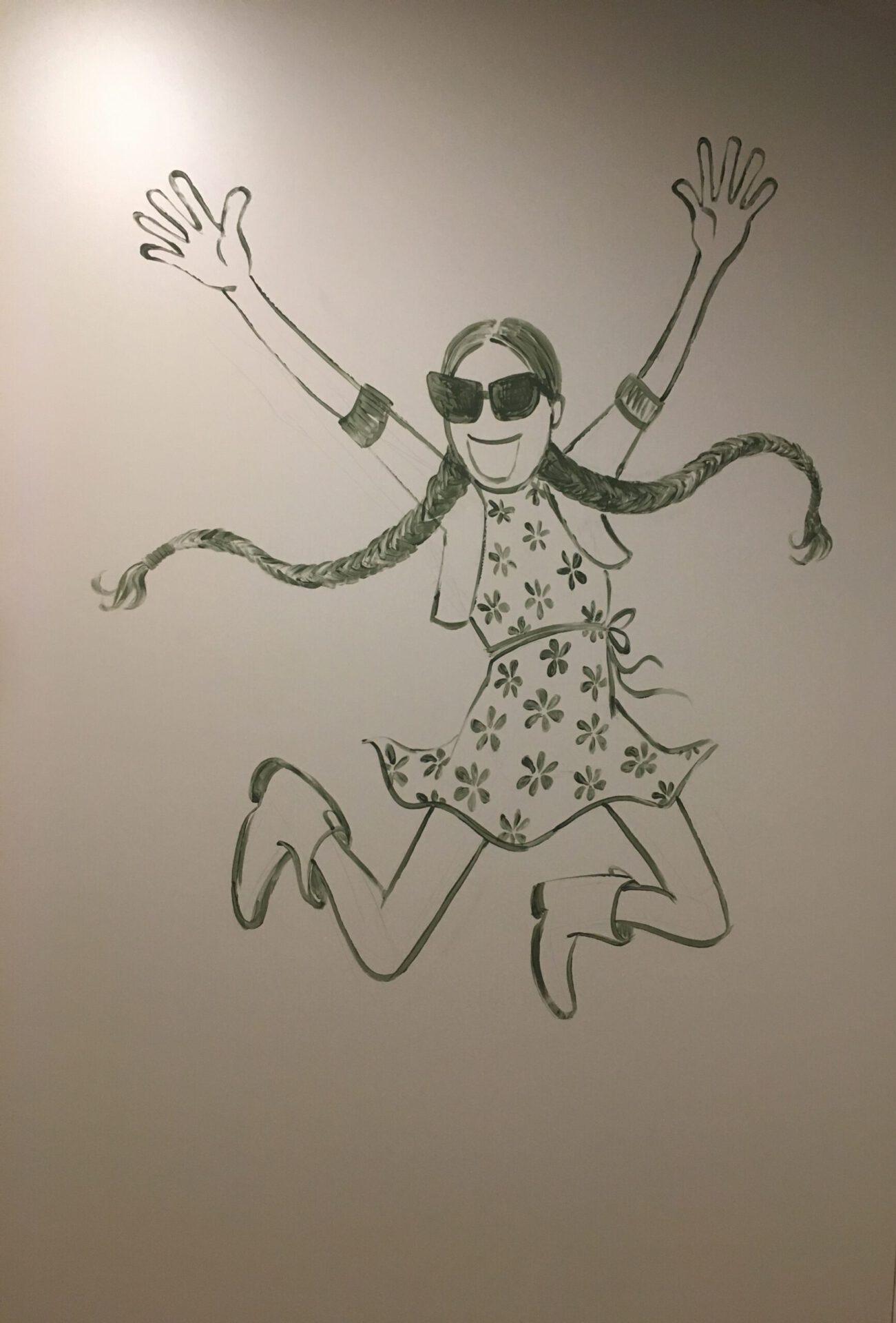 Mural Art Joey Holthaus Fashion Shop Kids